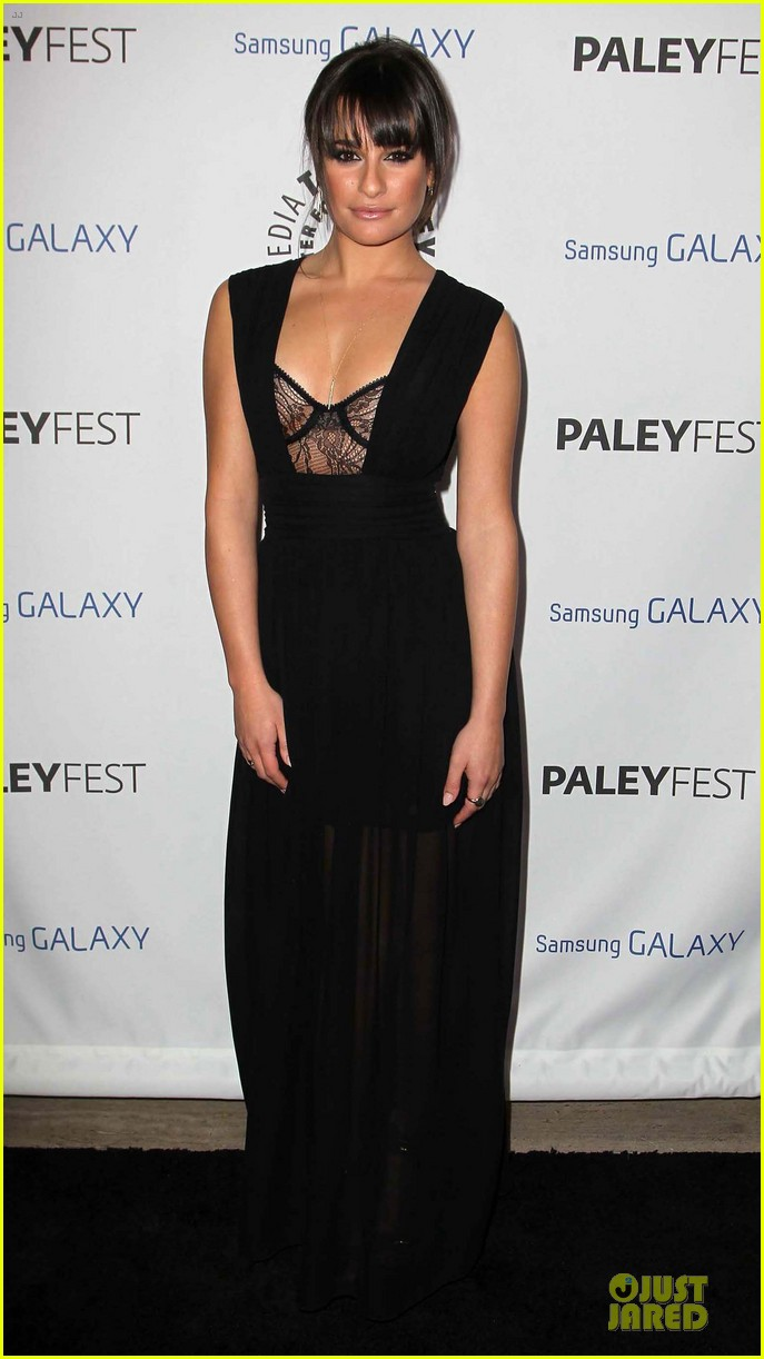 lea michele monteith inaugural paleyfest icon award attendees 03