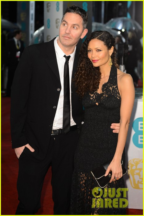thandie newton baftas 2013 red carpet 03