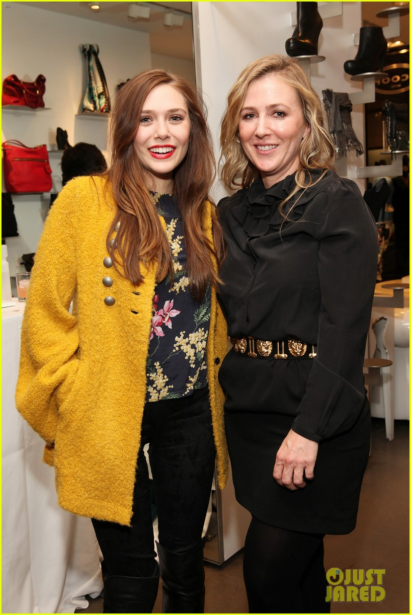 elizabeth olsen cher coulter capsule collection event 03