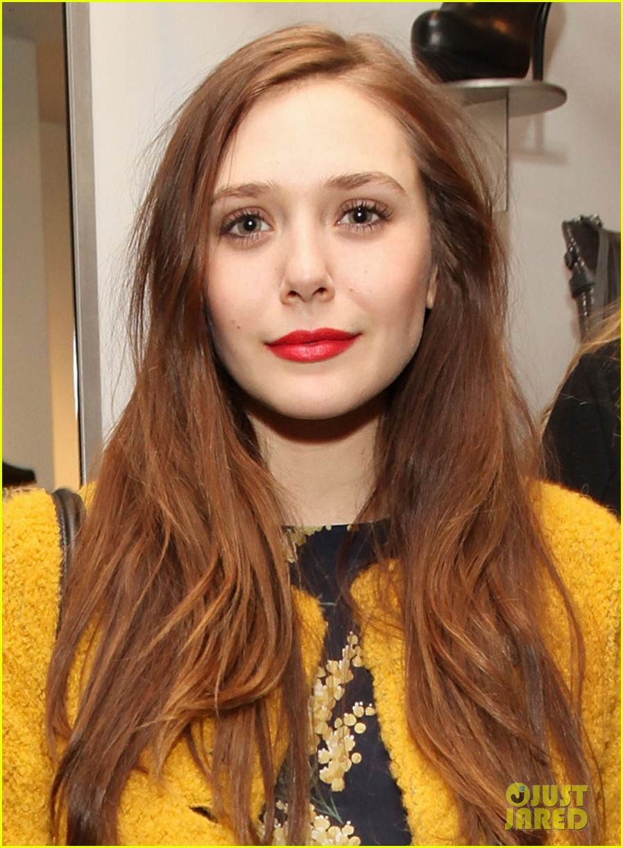 elizabeth olsen cher coulter capsule collection event 042807051