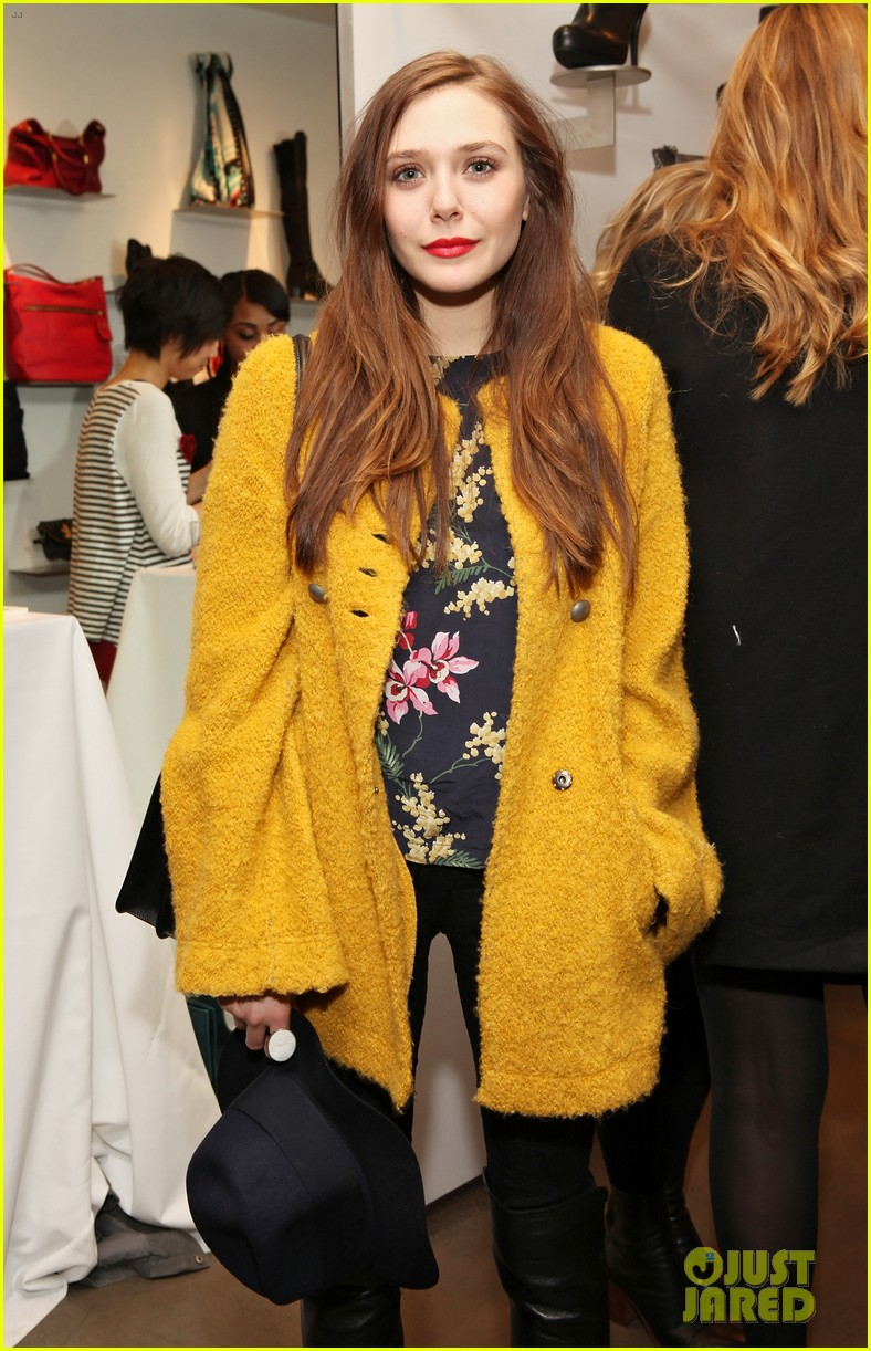 elizabeth olsen cher coulter capsule collection event 06