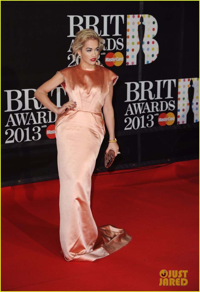 rita ora brit awards 2013 red carpet 072815826