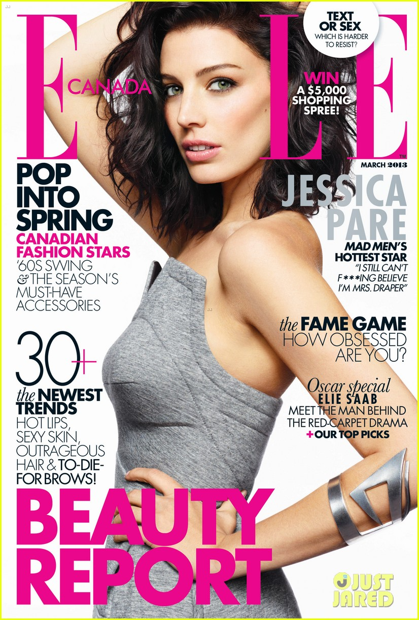 jessica pare covers elle canada march 2013 032811619