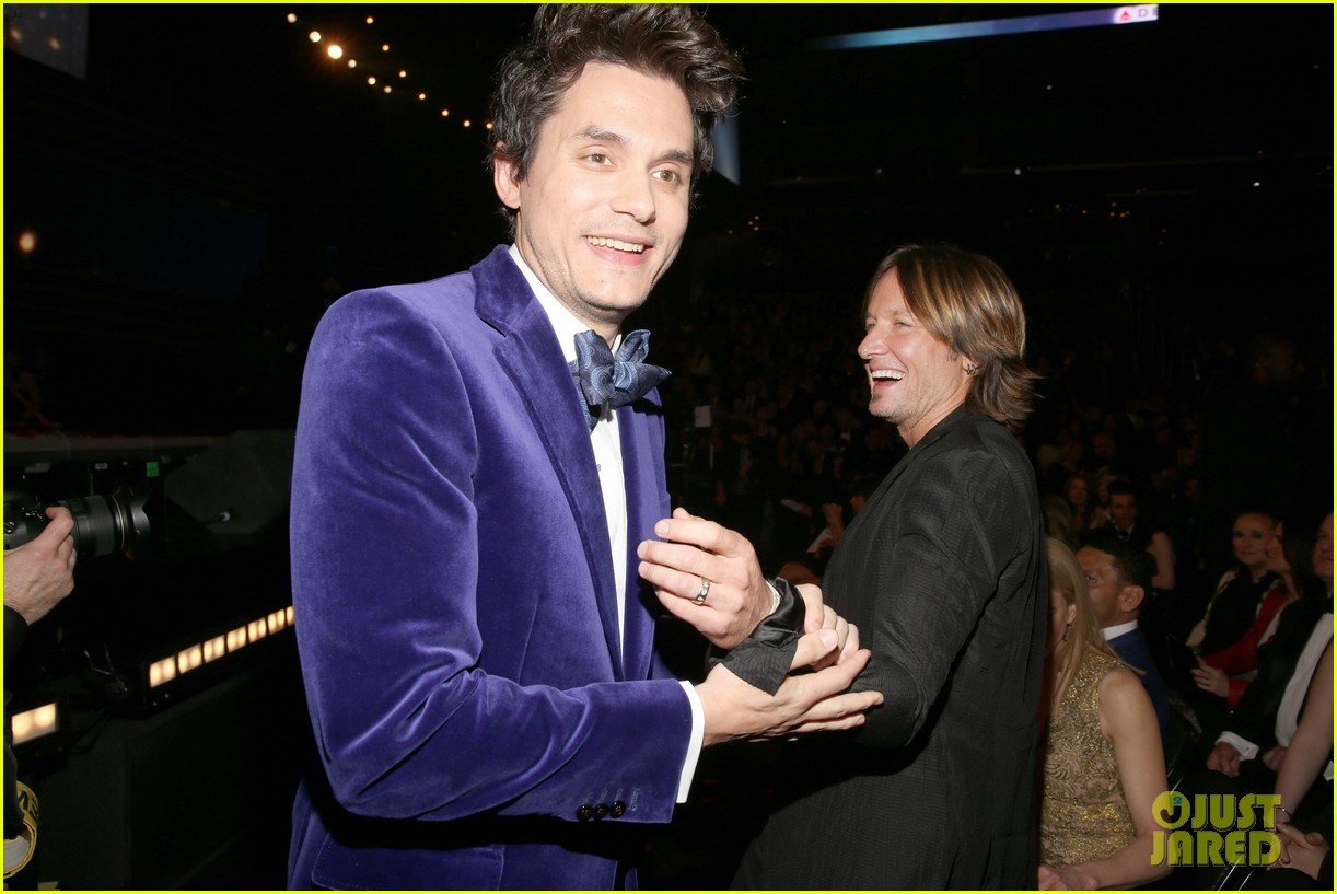 katy perry john mayer grammys 2013 seatmates pics 02