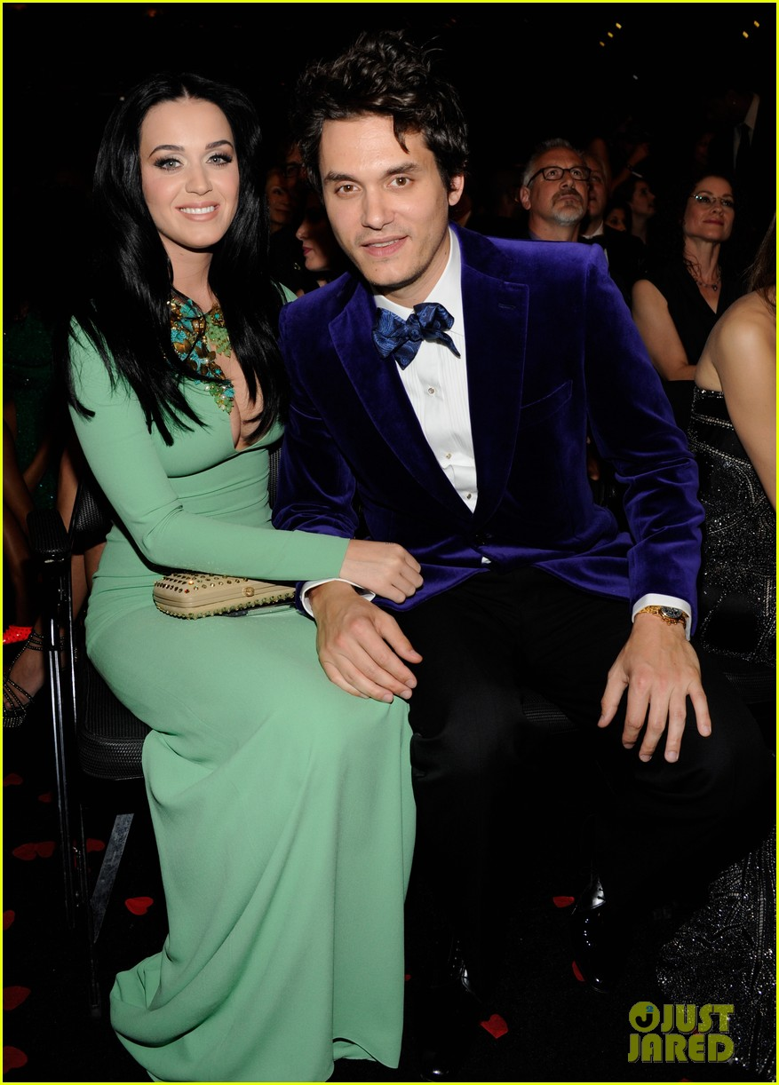 katy perry john mayer grammys 2013 seatmates pics 03