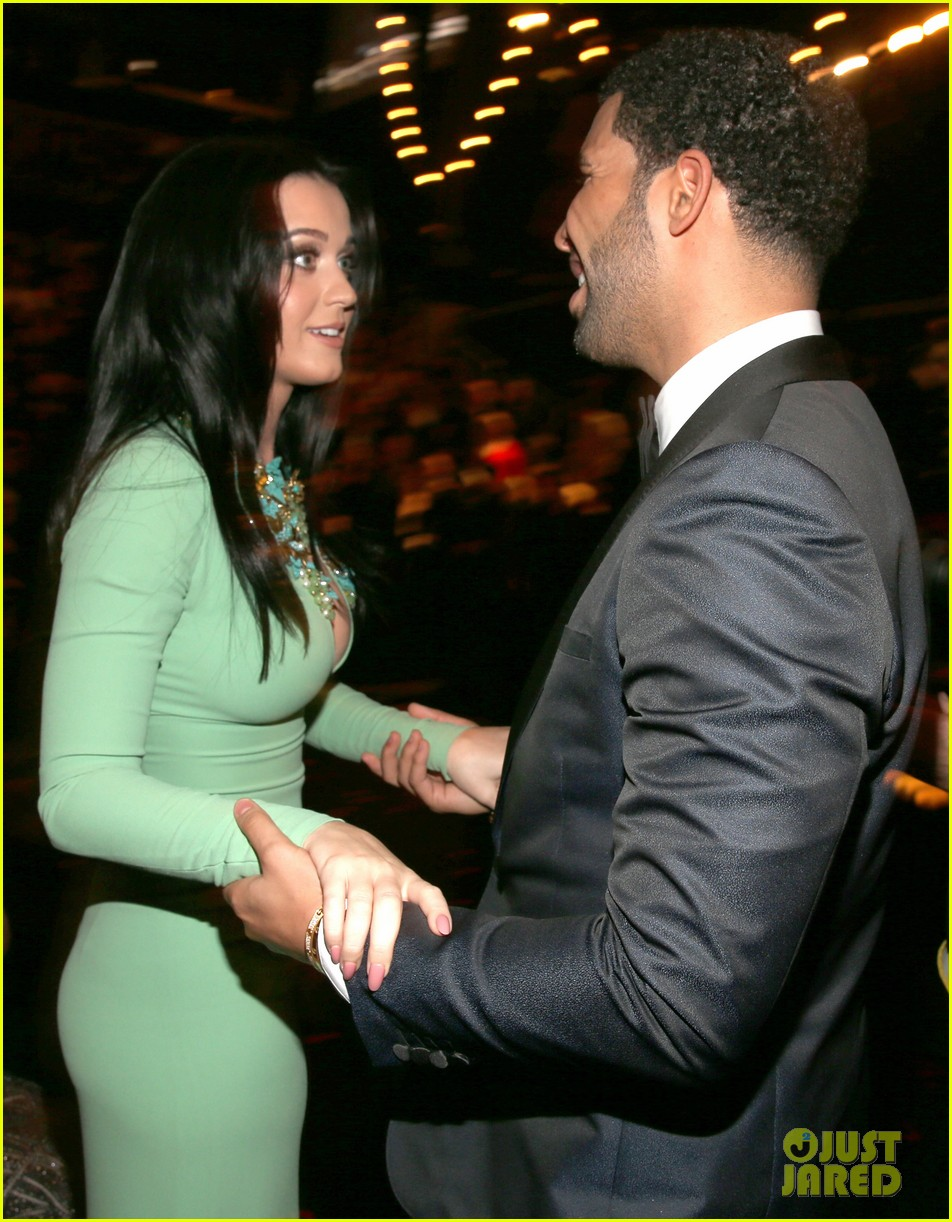 katy perry john mayer grammys 2013 seatmates pics 04