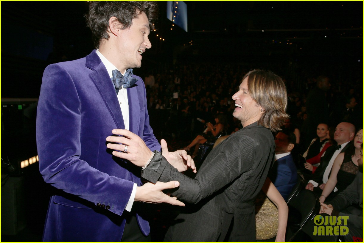 katy perry john mayer grammys 2013 seatmates pics 072809622