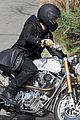 brad pitt rides his motorcycle shiloh zahara get froyo 25