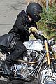 brad pitt rides his motorcycle shiloh zahara get froyo 25