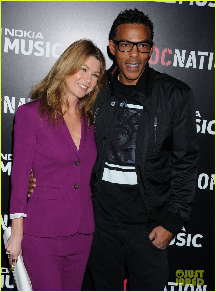 ellen pompeo chris ivery rocnation pre grammy brunch 2013 04