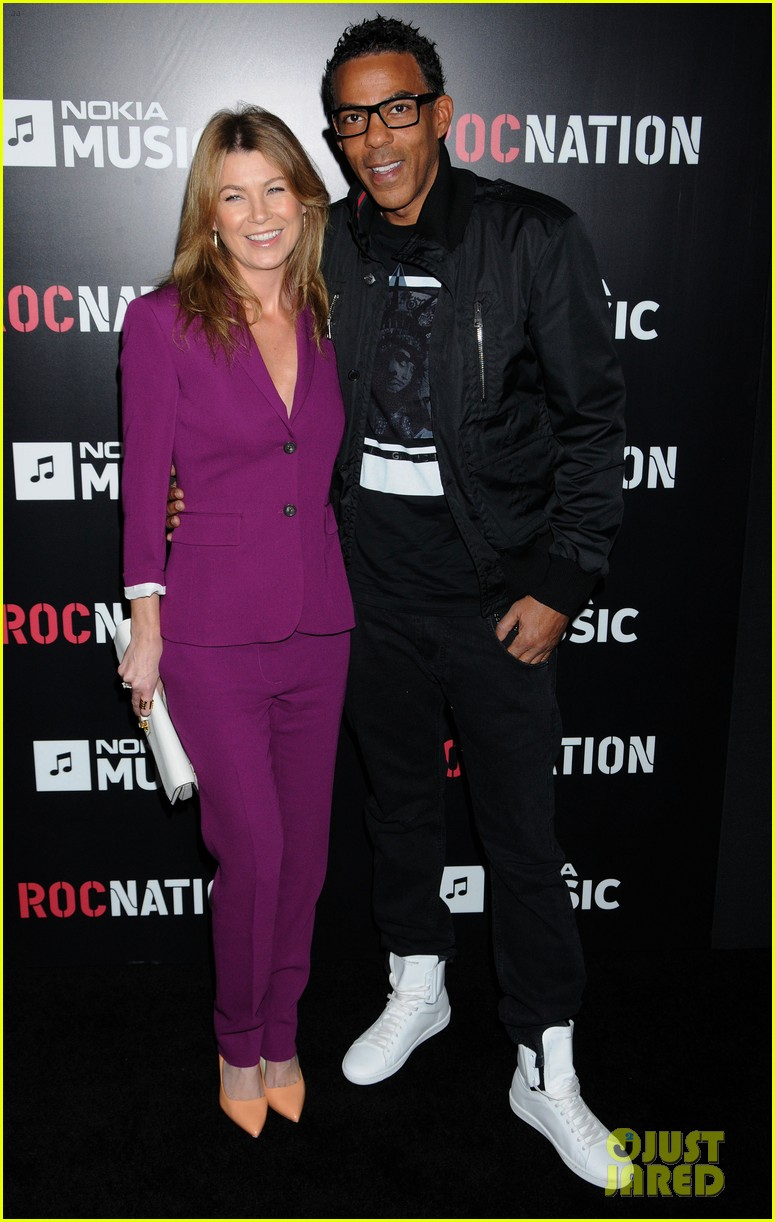 ellen pompeo chris ivery rocnation pre grammy brunch 2013 09