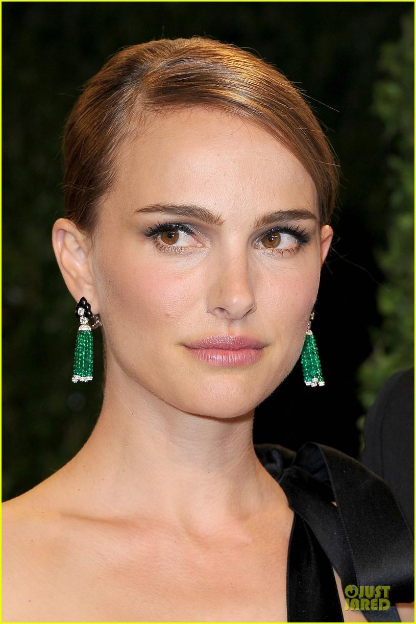 Natalie Portman Amp Benjamin Millepied Vanity Fair Oscar
