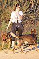nikki reed super bowl hiking with shirtless brother nathan 13