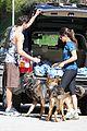 nikki reed dog run with brother nathan 05