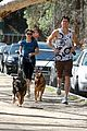 nikki reed dog run with brother nathan 08