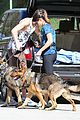 nikki reed dog run with brother nathan 11