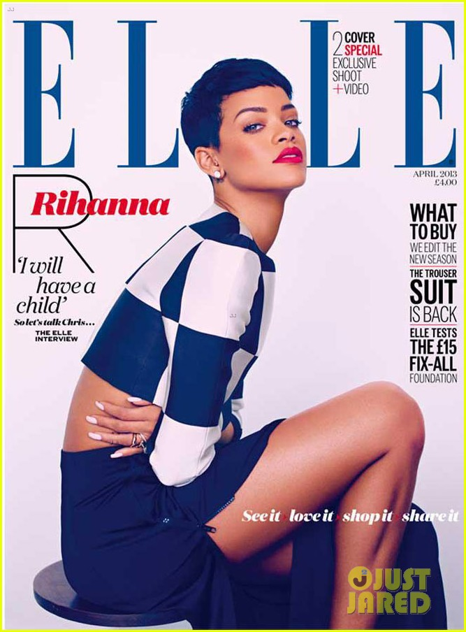 rihanna covers elle uk april 2012 03