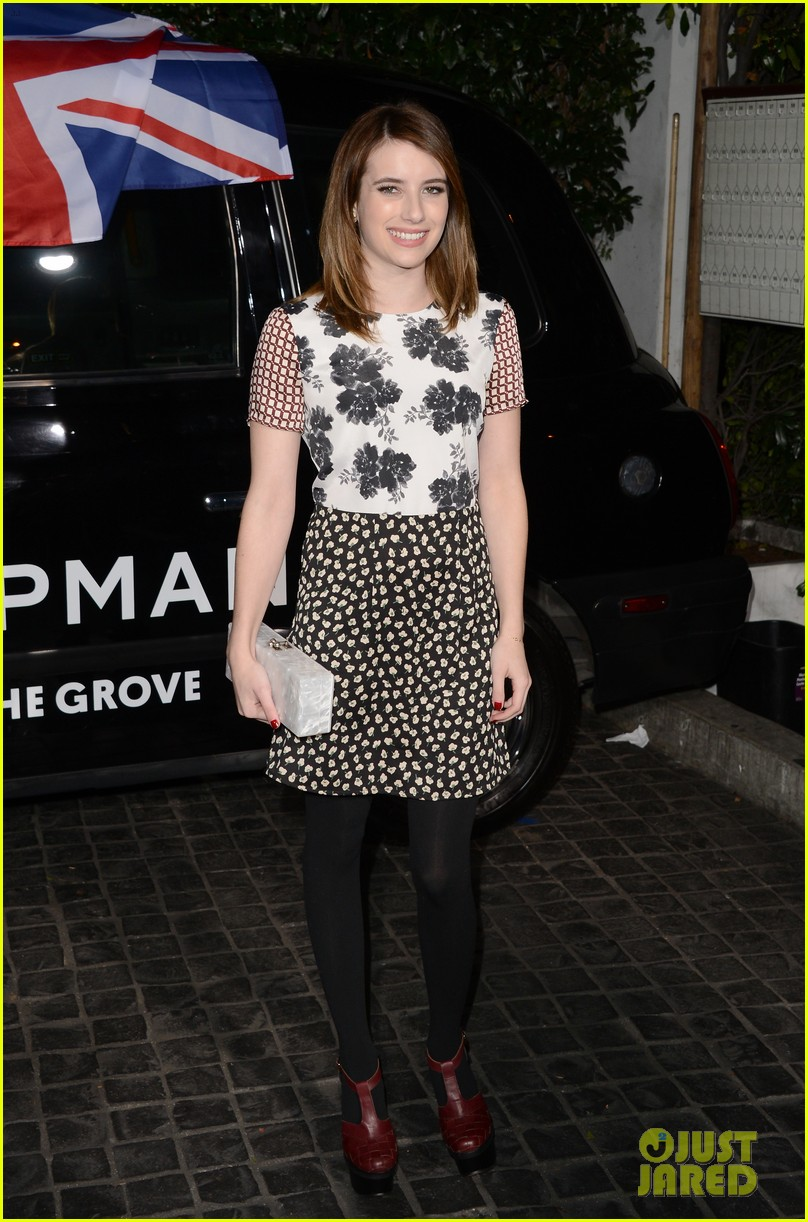 emma roberts ashley madekwe topshop topman la opening party 31