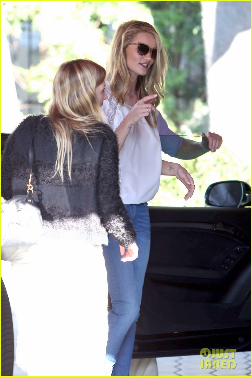 rosie huntington whiteley topless in cher coulter jeans 13