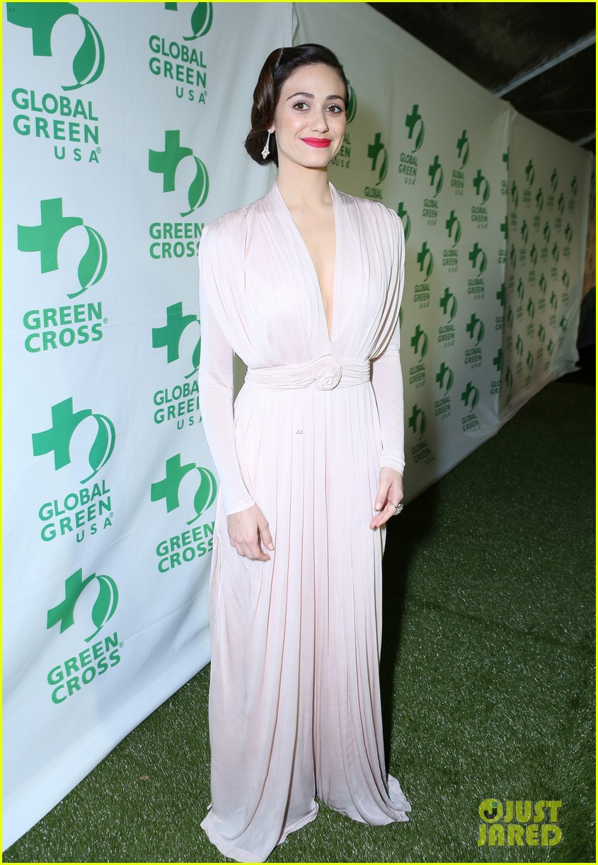 emmy rossum sophia bush global green pre oscars party 06