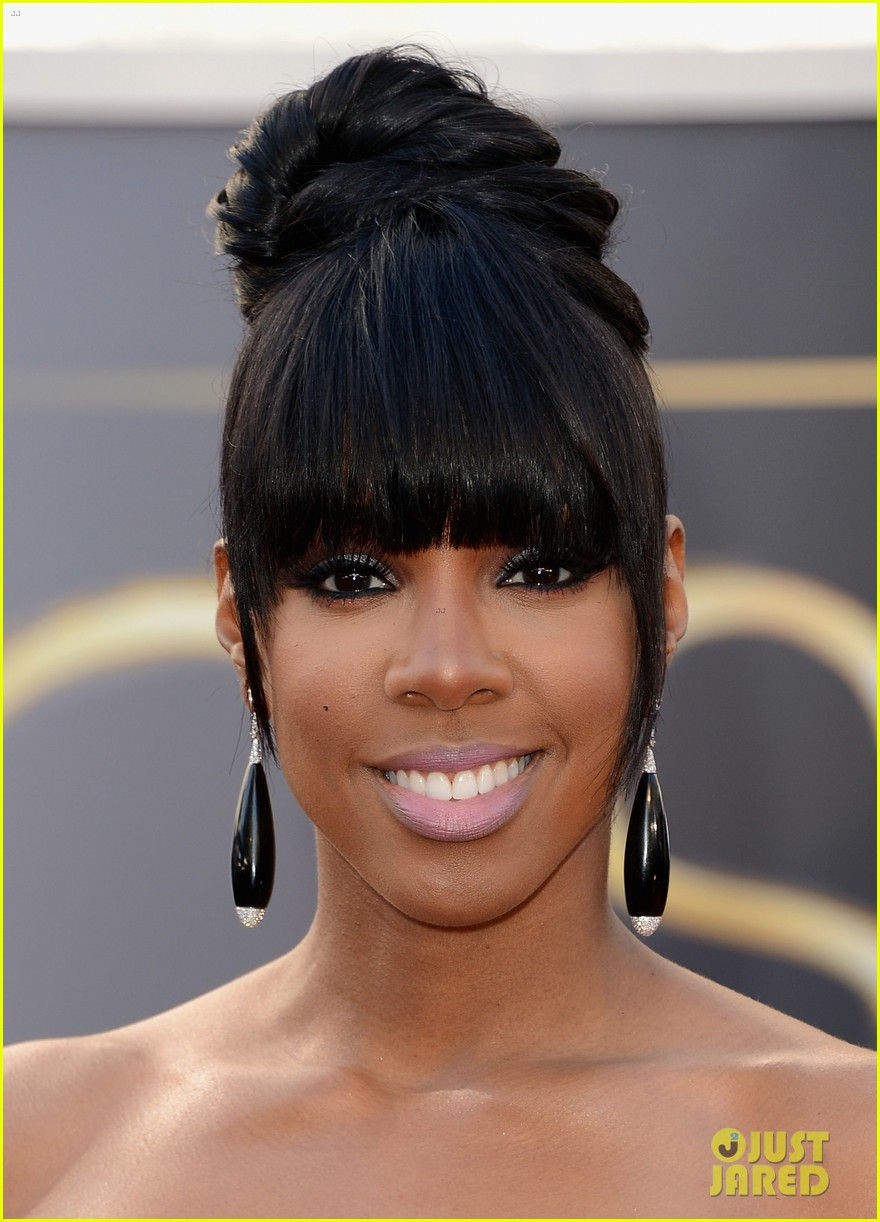 kelly rowland oscars 2013 red carpet 06