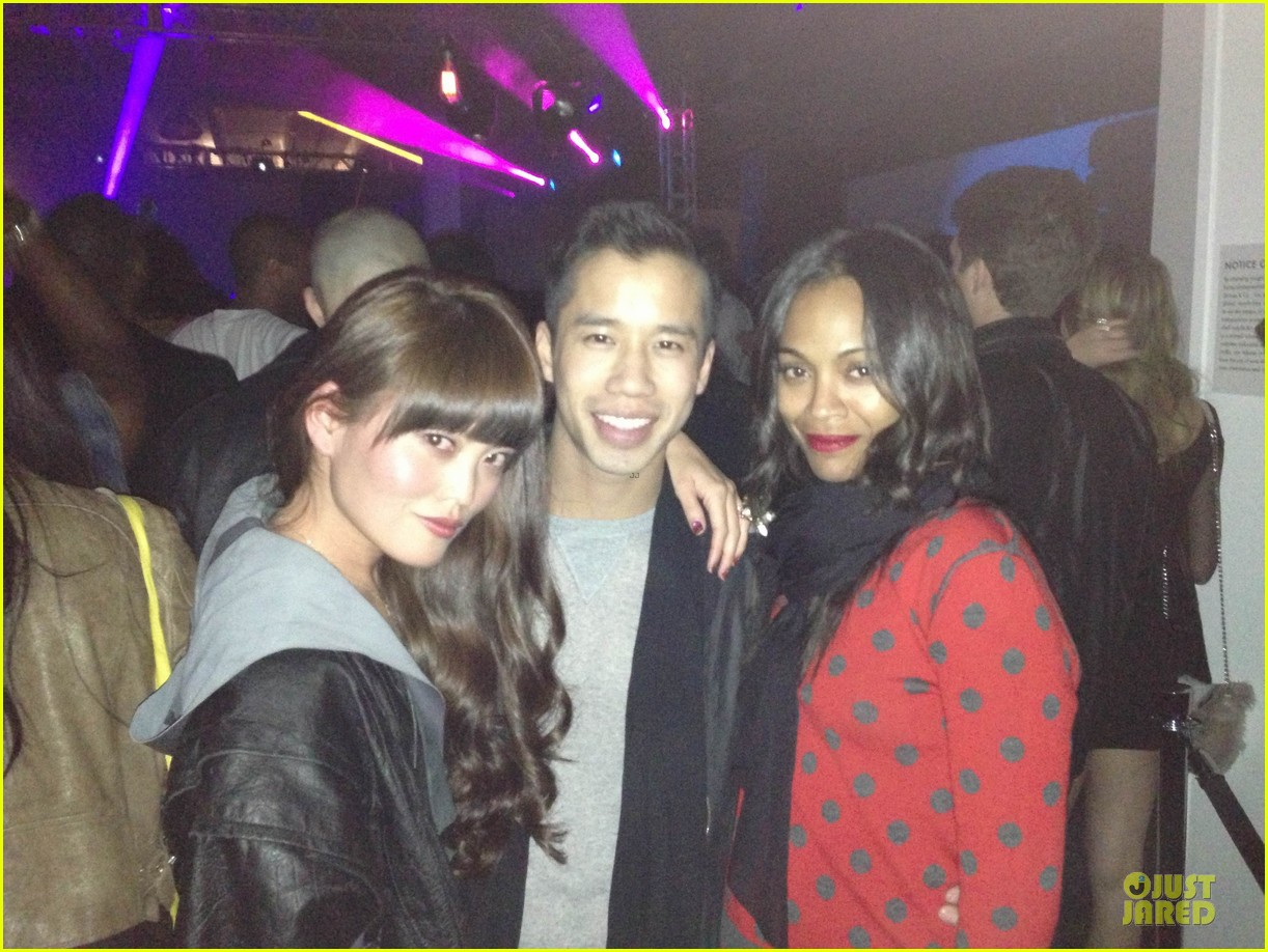 zoe saldana levis 140th year annversary party 18