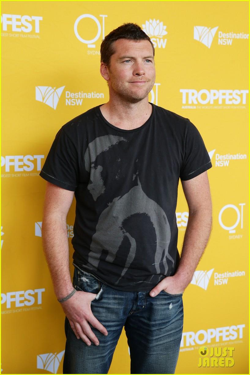 sam worthington tropfest film festival judge 082814376