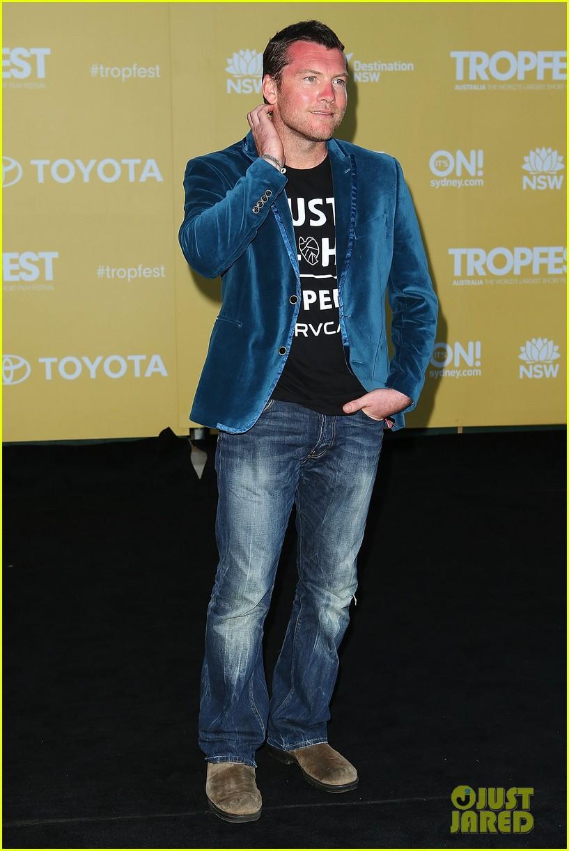 sam worthington tropfest film festival judge 15