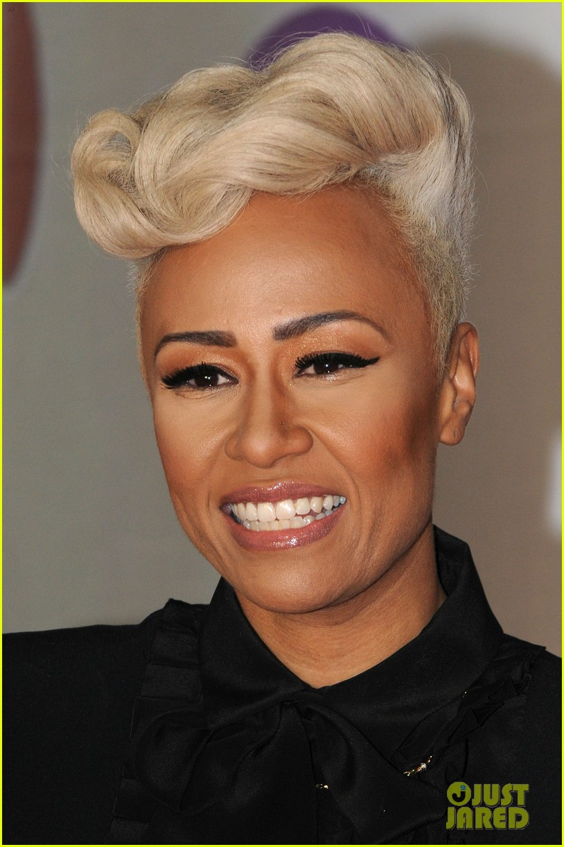 emeli sande brit awards 2013 performance red carpet 02