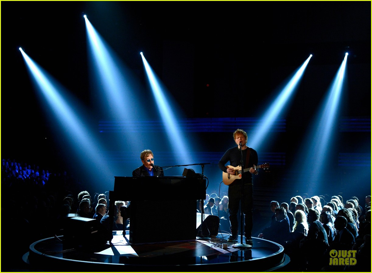 ed sheeran elton john grammys 2013 performance watch now 072809413