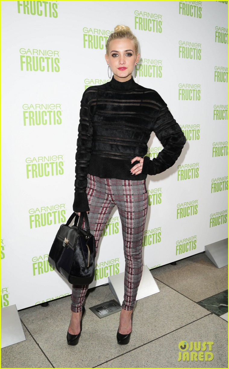 ashlee simpson garnier fructis fashion week celebration 12