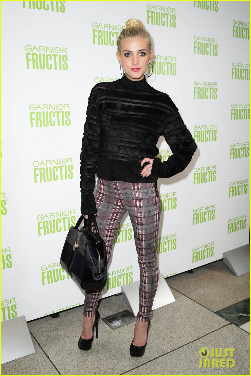 ashlee simpson garnier fructis fashion week celebration 132807156