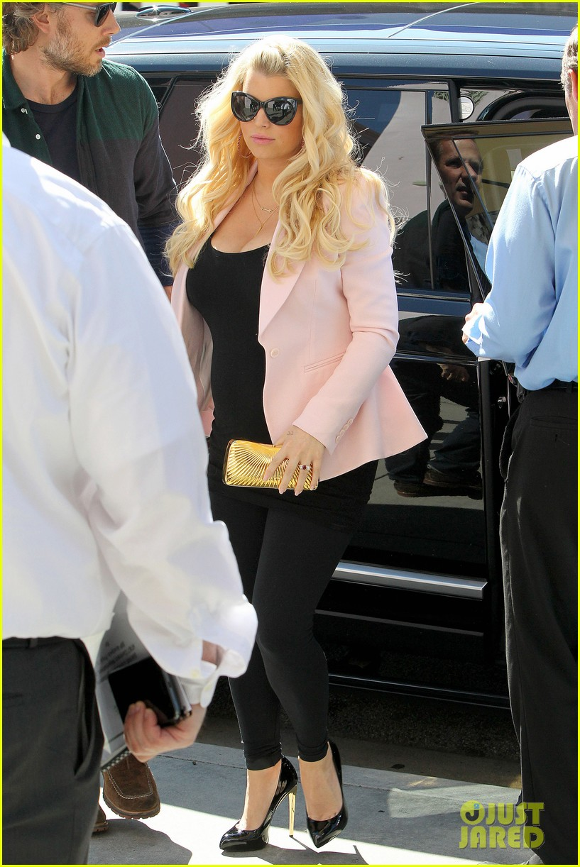 jessica simpson eric johnson valentines lunch lovebirds 032812215