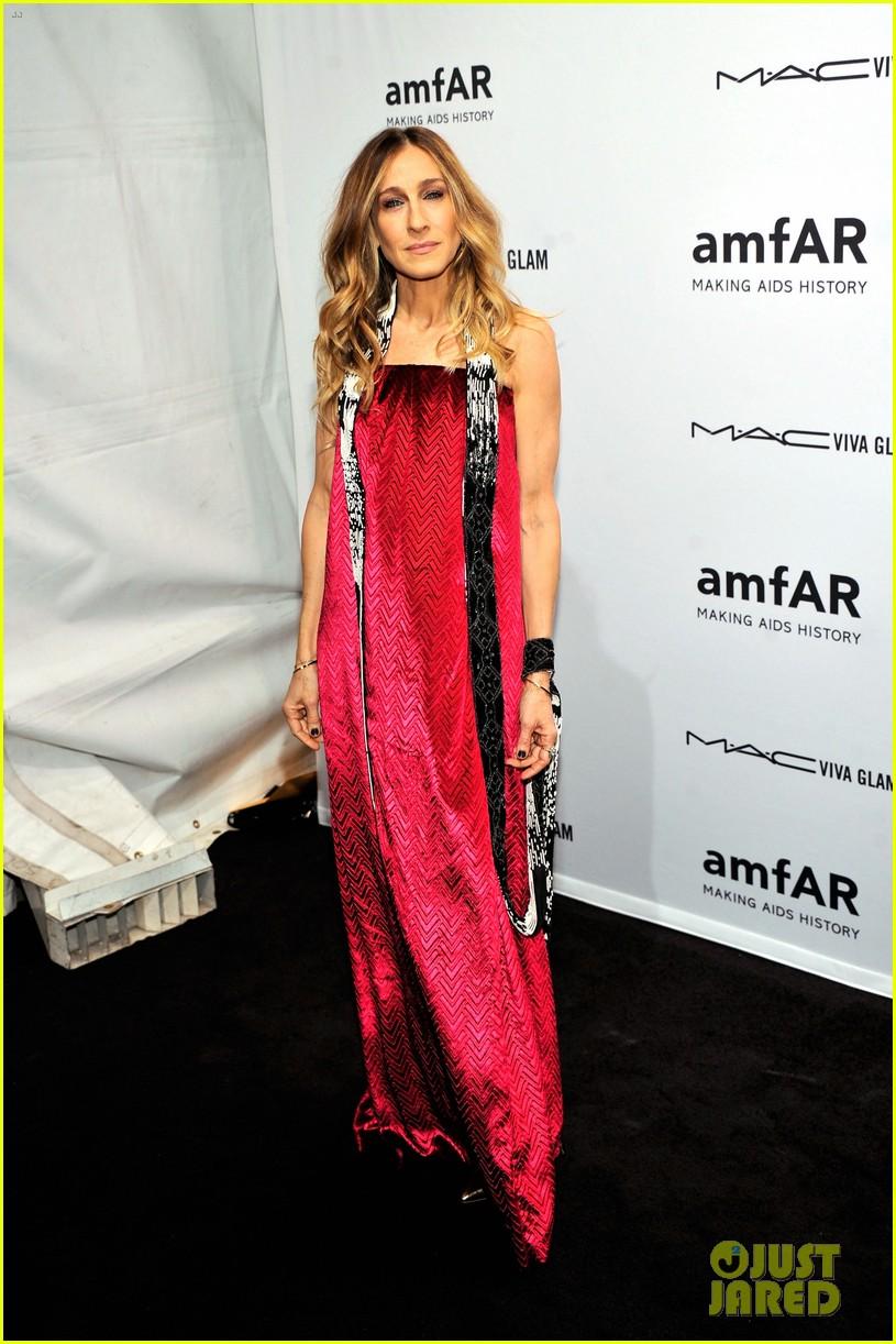 sarah jessica parker amfar new york gala 2013 07