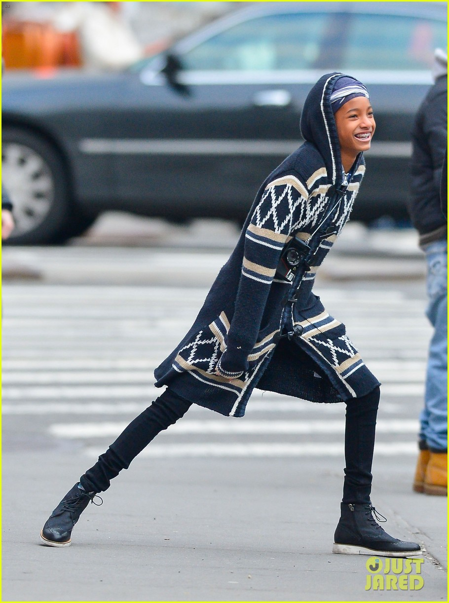 willow jaden smith video shoot in new york 10
