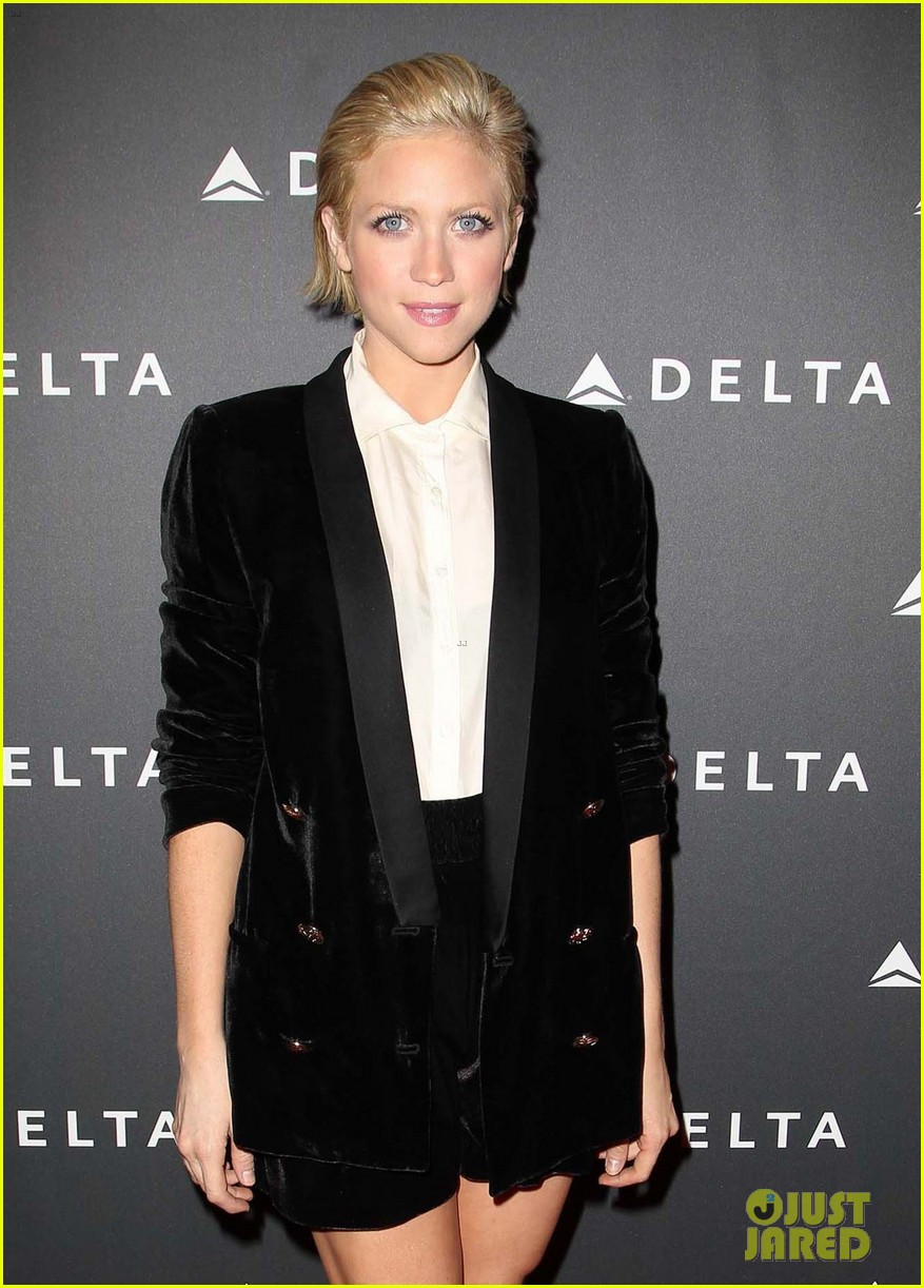 brittany snow solange knowles l as music industry event 28