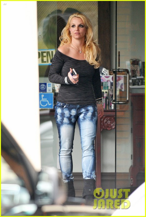 britney spears solo spa day 10