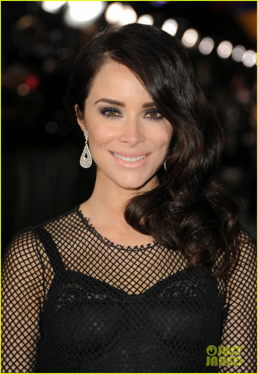 abigail spencer zach braff oz premiere 09