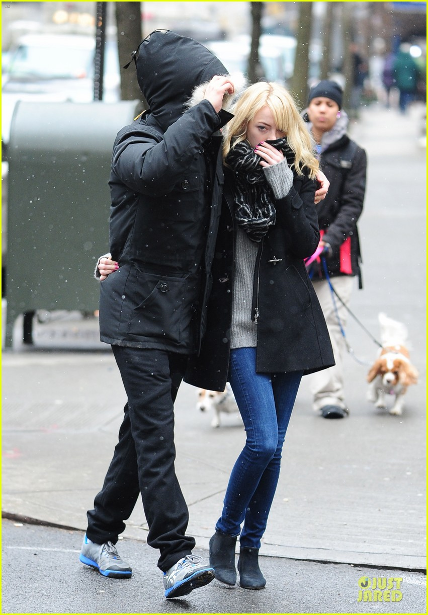 emma stone andrew garfield amazing spider man 2 begins production 01