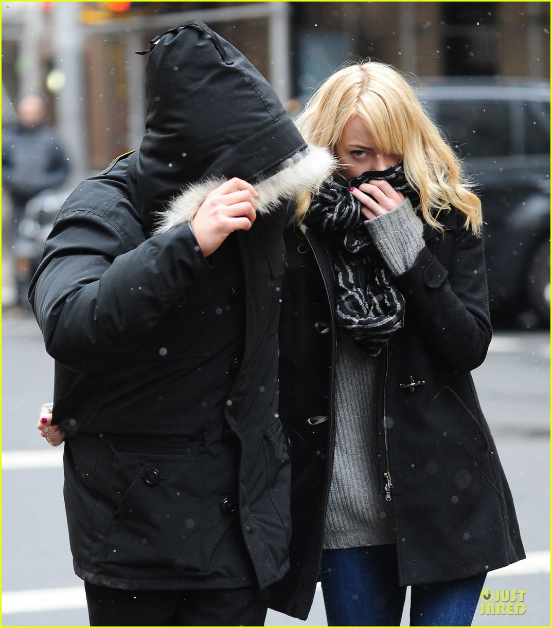 emma stone andrew garfield amazing spider man 2 begins production 08
