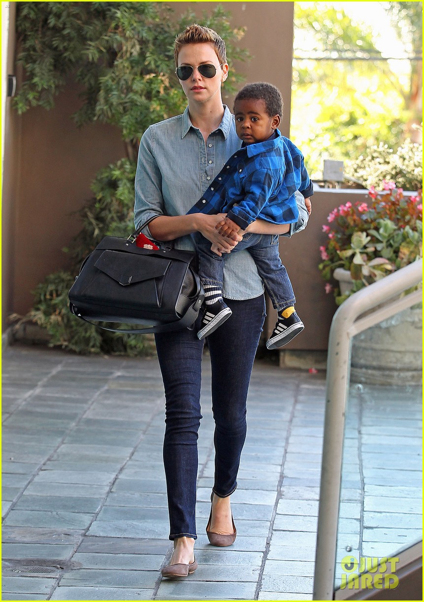 Charlize Theron Charlize Theron Children