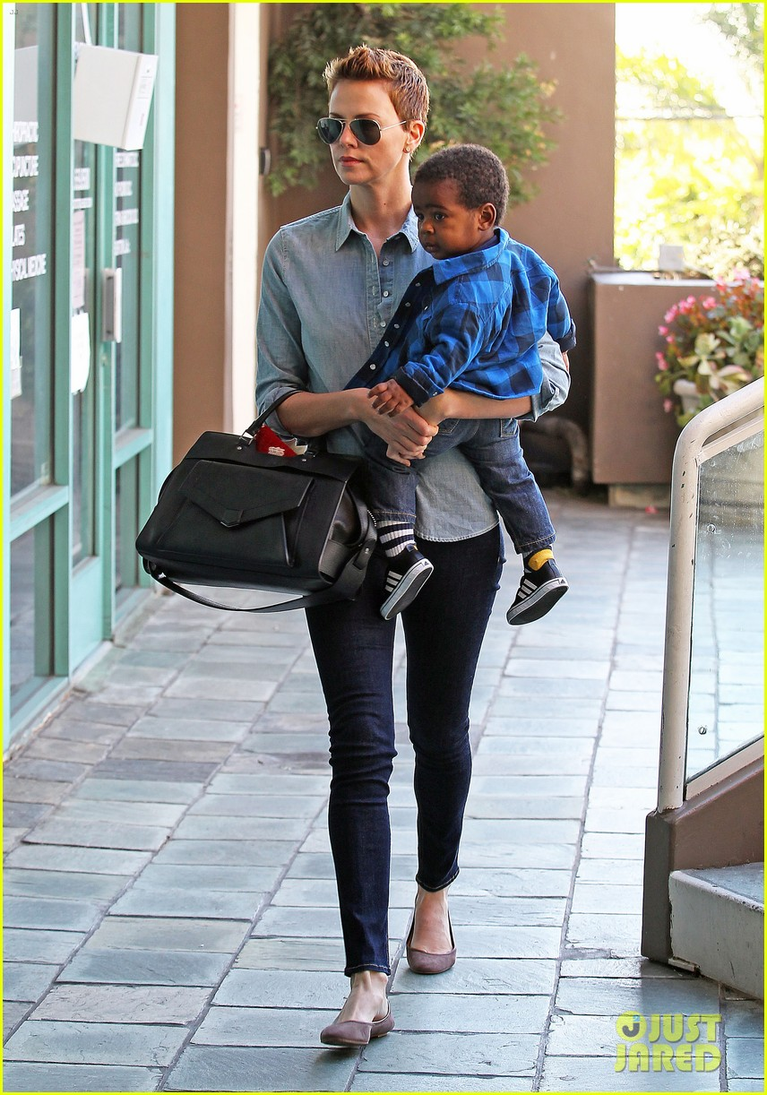 charlize theron fit for kids with jackson 09