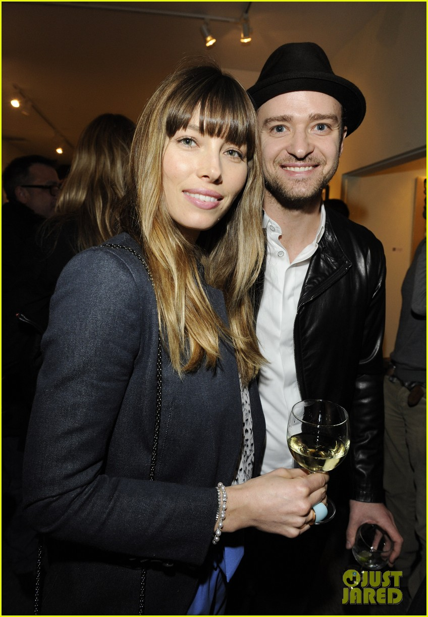 justin timberlake jessica biel nothing you dont know exhibition 02