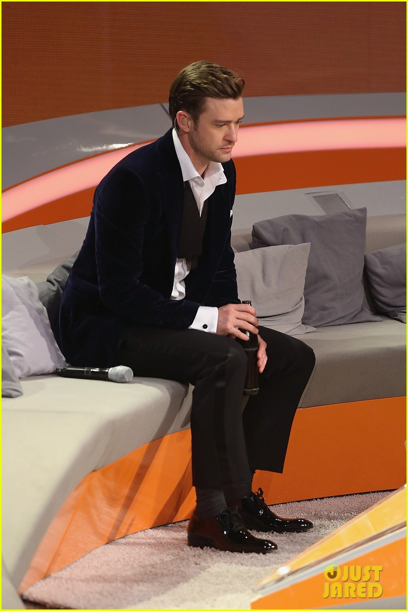 justin timberlake performs mirrors on wetten dass 12
