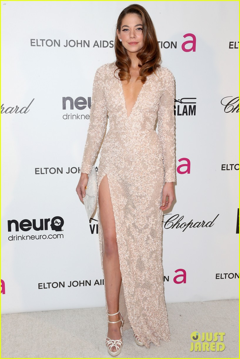 analeigh tipton willa holland elton john oscars party 2013 01