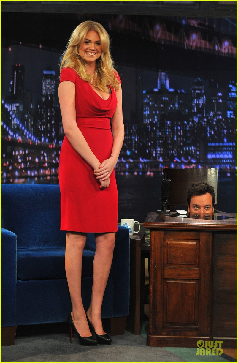 kate upton red hot fallon appearance 01