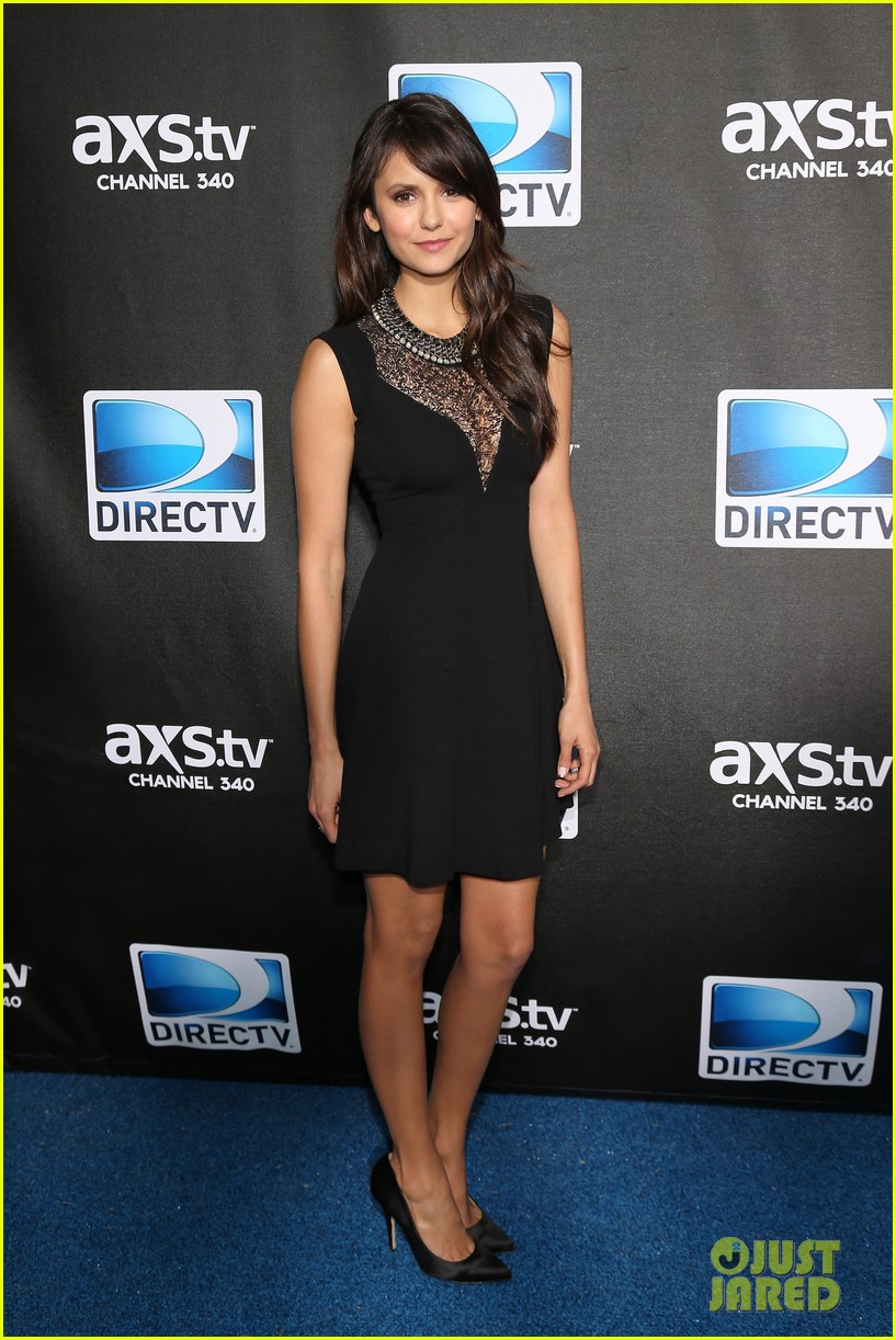 sofia vergara nina dobrev directv super bowl party 24