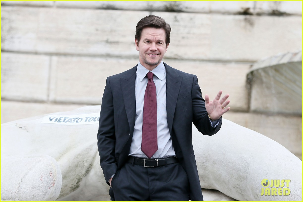 mark wahlberg broken city rome photo call radio visit 10