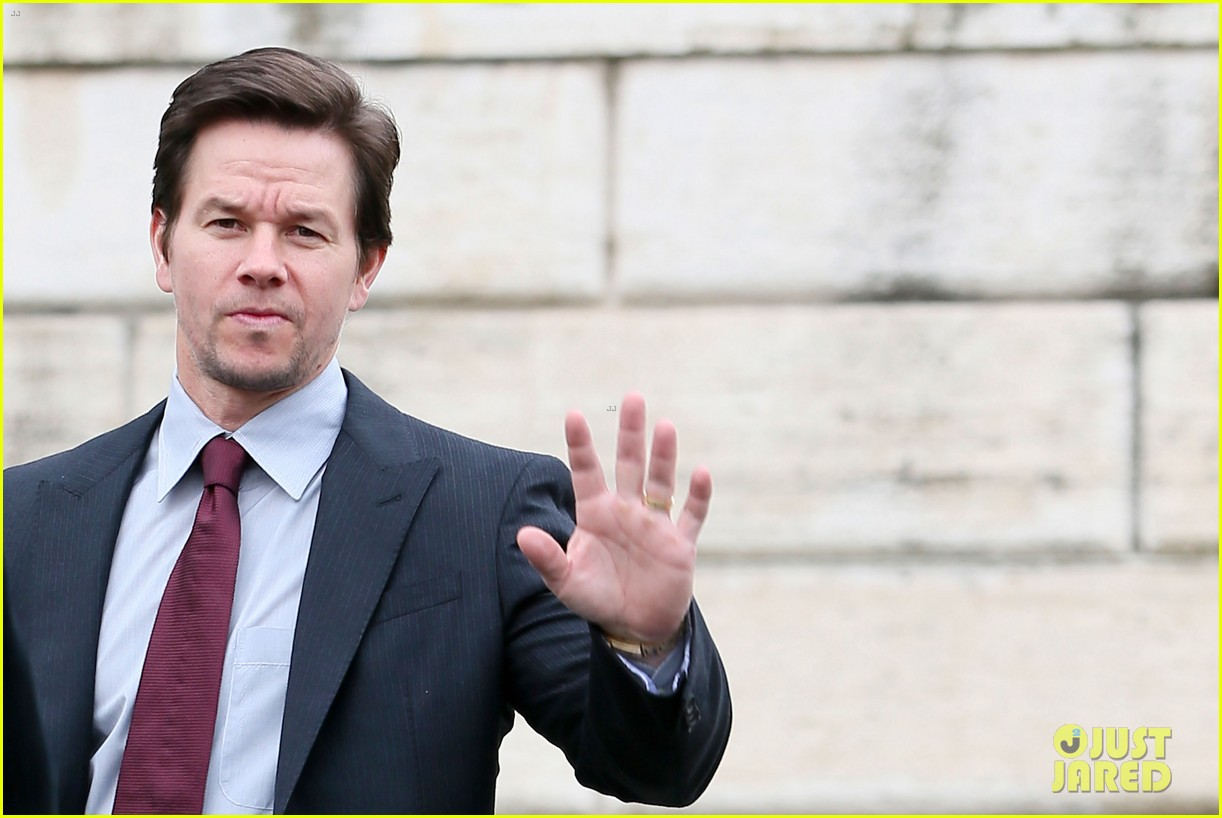 mark wahlberg broken city rome photo call radio visit 252806792