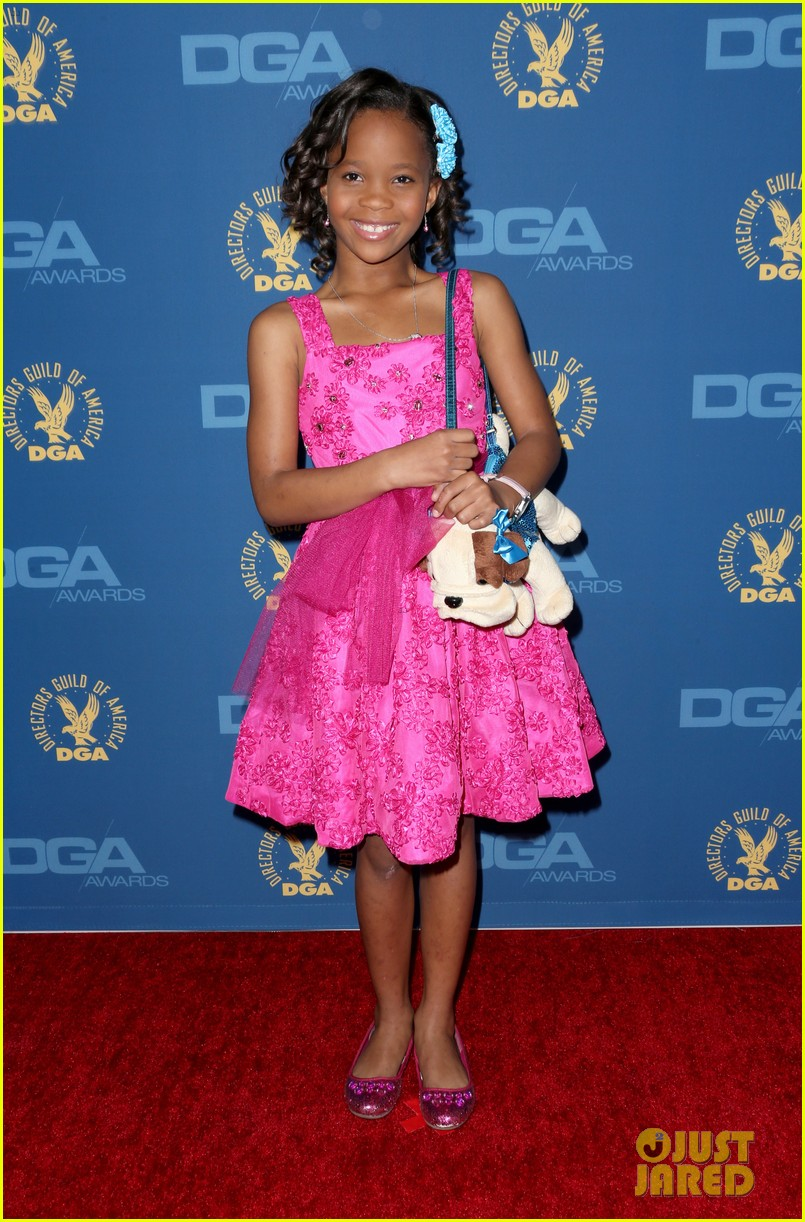 quvenzhane wallis berenice bejo dga awards 2013 01